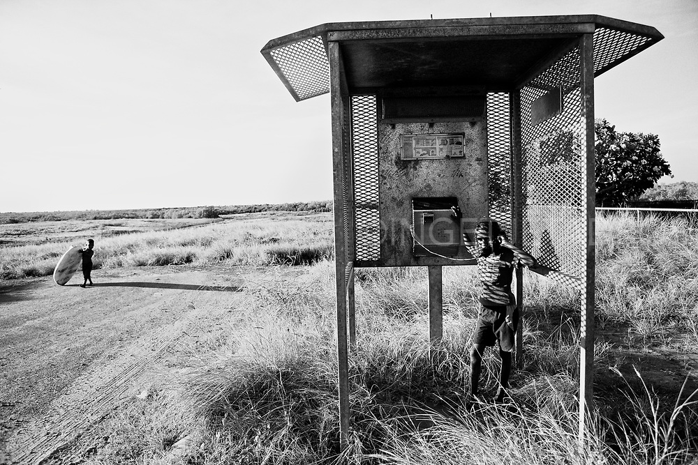 While the rest of the world takes for granted wifi connections, hot spots, internet cafes etc some places remain locked in the past in regards to technology.<br />