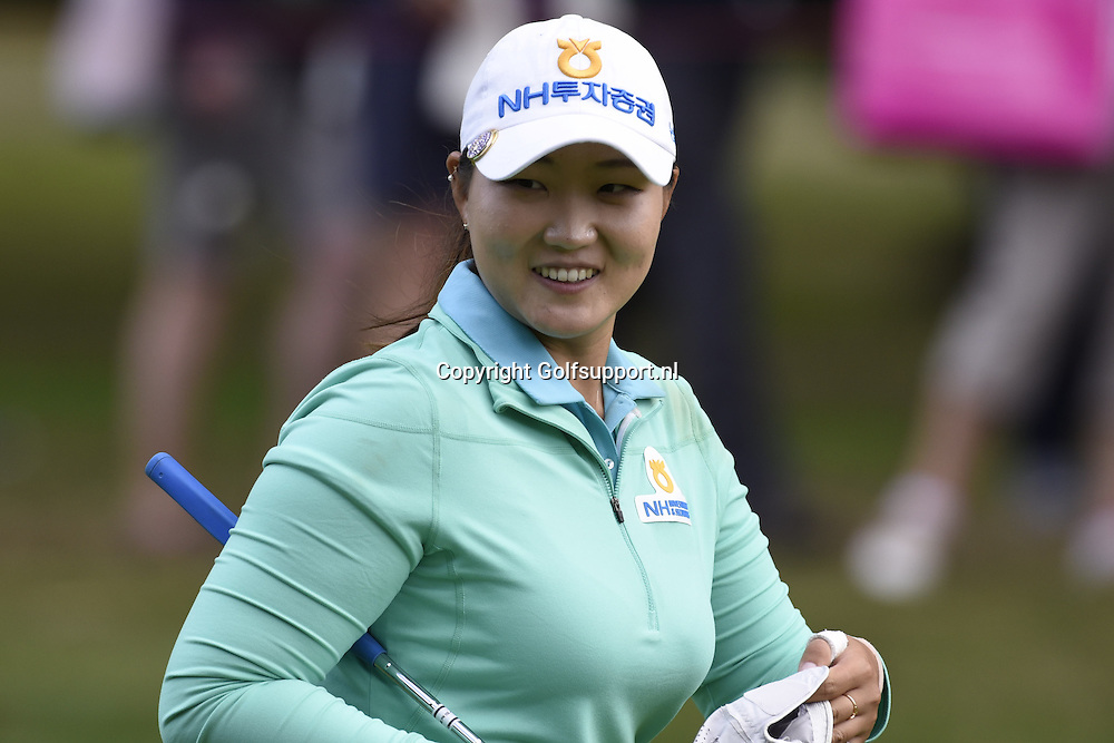 30/07/2016 Ladies European Tour 2016, Ricoh Women's British Open, Woburn Golf Club, England, UK. 28-31 Jul. Mirim  Lee of Korea  during the third round.