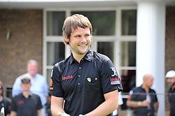 GORDON SMART editor of The Sun's celebrity column Bizarre at the Leuka Mini Masters Golf at Dukes Meadows, Chiswick, London on 15th July 2011.