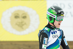 Jernej Damjan of Slovenia reacts during Ski Flying Individual Competition at Day 4 of FIS World Cup Ski Jumping Final, on March 22, 2015 in Planica, Slovenia. Photo by Vid Ponikvar / Sportida