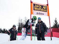 18.12.2013, Saslong, Groeden, ITA, FIS Ski Weltcup, Groeden, Abfahrt, Herren, Streckenbesichtigung zum 1. Traininglauf, im Bild Klaus Kroell (AUT) // Klaus Kroell of Austria during the course inspection of mens 1st downhill practice of the Groeden FIS Ski Alpine World Cup at the Saslong Course in Gardena, Italy on 2012/12/18. EXPA Pictures © 2013, PhotoCredit: EXPA/ Johann Groder