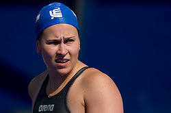 Katja Lehtonen of Finland competes during Women's  50m Breaststroke Heats during the 13th FINA World Championships Roma 2009, on August 1, 2009, at the Stadio del Nuoto,  in Foro Italico, Rome, Italy. (Photo by Vid Ponikvar / Sportida)