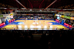 Arena during Slovenian basketball All Stars Domzale 2012 event, on January 2, 2012 in Hala Komunalnega centra, Domzale, Slovenia.  (Photo By Vid Ponikvar / Sportida.com)