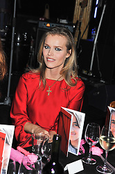 EVA HERZIGOVA at the Hoping Variety Show - A benefit evening for Palestinian Refugee Children held at The Cafe de Paris, Coventry Street, London on 21st November 2011.