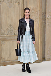 Eugenie Niarchos attending at the Valentino show as a part of Paris Fashion Week Ready to Wear Spring/Summer 2017 on October 02, 2016 in Paris, France. Photo by Alban Wyters/ABACAPRESS.COM