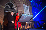 Koningin Maxima opent de Jheronimus Academy of Data Science (JADS) in het voormalig klooster Mariënburg in 's-Hertogenbosch.<br /> <br /> Queen Maxima Opens Tomorrow the Hieronymus Academy of Data Science (JADS) in the former convent Marienburg in 's-Hertogenbosch.<br /> <br /> Op de foto / On the photo:  Koningin Maxima tijdens de opening van de Jheronimus Academy of Data Science //// Queen Maxima at the opening of the Academy of Hieronymus Data Science