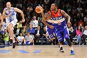 DESCRIZIONE : Campionato 2014/15 Dinamo Banco di Sardegna Sassari - Enel Brindisi<br /> GIOCATORE : Marcus Denmon<br /> CATEGORIA : Palleggio Contropiede<br /> SQUADRA : Enel Brindisi<br /> EVENTO : LegaBasket Serie A Beko 2014/2015<br /> GARA : Dinamo Banco di Sardegna Sassari - Enel Brindisi<br /> DATA : 27/10/2014<br /> SPORT : Pallacanestro <br /> AUTORE : Agenzia Ciamillo-Castoria / Luigi Canu<br /> Galleria : LegaBasket Serie A Beko 2014/2015<br /> Fotonotizia : Campionato 2014/15 Dinamo Banco di Sardegna Sassari - Enel Brindisi<br /> Predefinita :