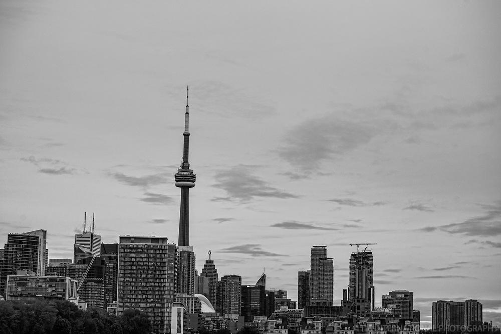 Toronto Skyline (monochrome)
