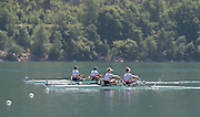 Aiguebelette, FRANCE.  GBR LW2X final Sunday, Finals at the  2014 FISA World Cup II, 11:54:42  Sunday  22/06/2014. [Mandatory Credit; Peter Spurrier/Intersport-images]