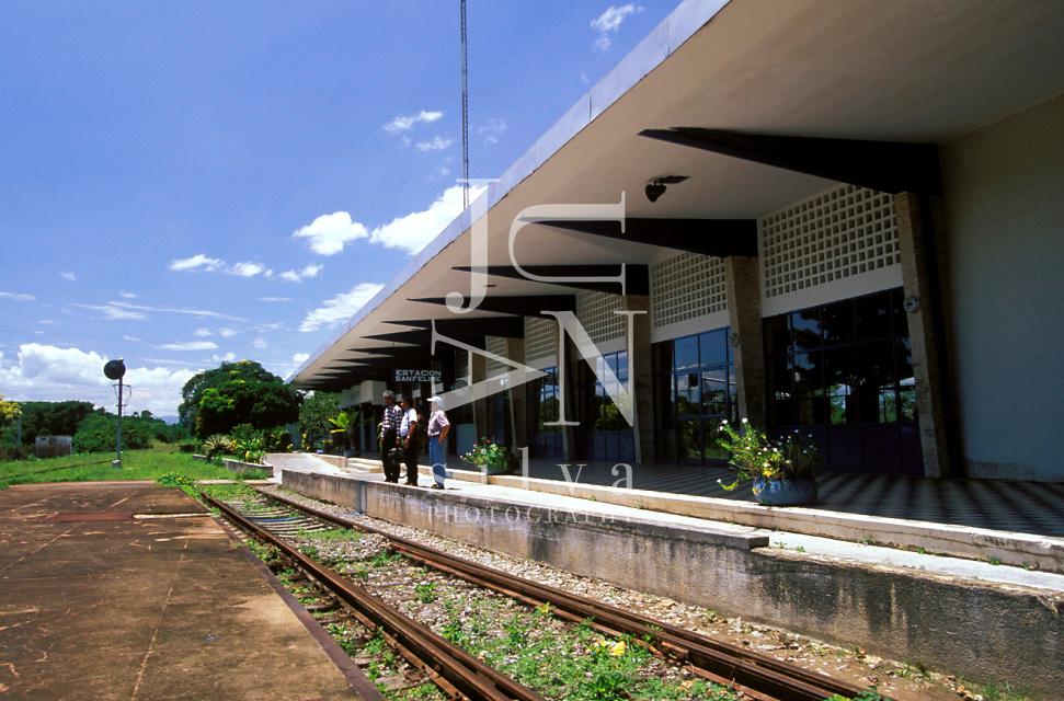 Estacion de ferrocarril, San Felipe, Estado Yaracuy, Venezuela