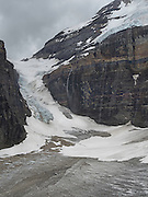 Victoria Glacier, along the Plain of Six Glaciers Trail, near Lake Louise, Banff National Park, Alberta, Canada