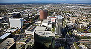 Aerial Photograph Over Central Costa Mesa And Center Of The Arts