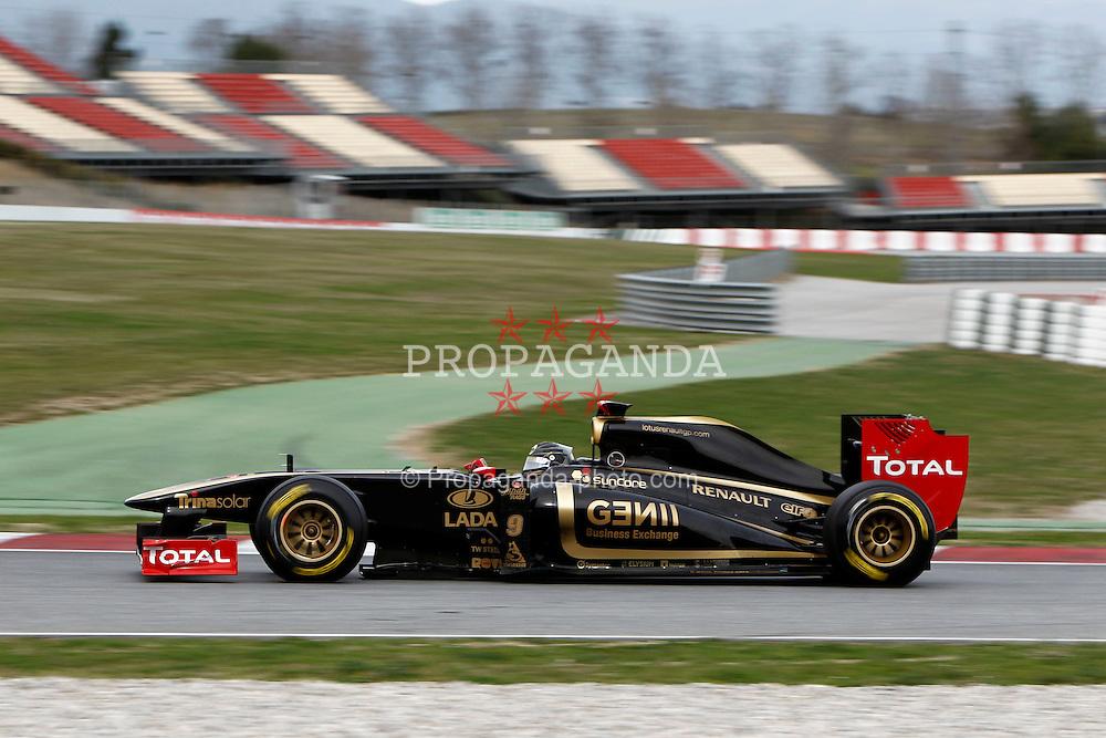 Motorsports / Formula 1: World Championship 2011, Testing in Barcelona, test, 09 Nick Heidfeld (GER, Renault F1 Team)
