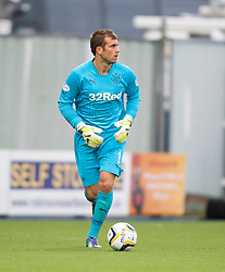 Rangers Cammy Bell. Falkirk 0 v 2 Rangers, Scottish Championship game played 15/8/2014 at The Falkirk Stadium.
