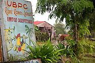 Farm sign in Antilla, Holguin, Cuba.