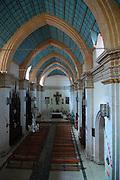 Interior of the Iglesia La Recoleta in Sucre, Bolivia