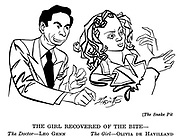 .The Snake Pit ; Leo Genn and Olivia De Havilland......