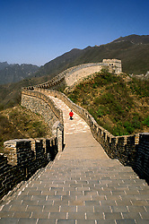 China: Beijing, Great Wall, Mutianyu section    Photo: chinas103    .Photo copyright Lee Foster, 510/549-2202, lee@fostertravel.com, www.fostertravel.com