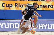 Footbal-FIFA Beach Soccer World Cup 2006 -  Oficial Games BHR x ARG - Hilaire - Brazil - 04/11/2006.<br />Mandatory Credit: FIFA/Ricardo Ayres