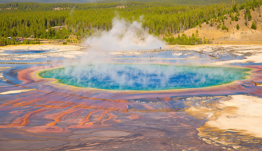 The Grand Prismatic Spring, Yellowstone