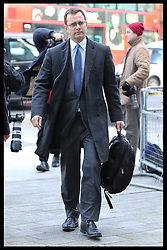 Andy Coulson  at Westminster Magistrates Court in London,, Thursday, 29th November 2012. .Photo by:  Stephen Lock /  i-Images