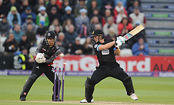 Sussex's Luke Wright is bowled by Somerset's Max Waller.  - Mandatory by-line: Alex Davidson/JMP - 01/06/2016 - CRICKET - The 1st Central County Ground - Hove, United Kingdom - Sussex v Somerset - NatWest T20 Blast