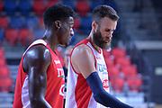Paul Biligha, Luigi Datome<br /> Nazionale Italiana Maschile Senior<br /> Eurobasket 2017<br /> Allenamento<br /> FIP 2017<br /> Telaviv, 30/08/2017<br /> Foto Ciamillo - Castoria/ M.Longo