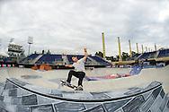 Alain Goikoetxea during Men's Skate Park Practice at the 2013 X Games Barcelona in Barcelona, Spain. ©Brett Wilhelm/ESPN
