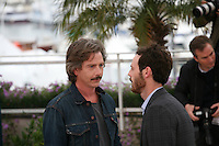 Ben Mendelsohn and Scoot McNairy at the Killing Them Softly photocall at the 65th Cannes Film Festival France. Tuesday 22nd May 2012 in Cannes Film Festival, France.