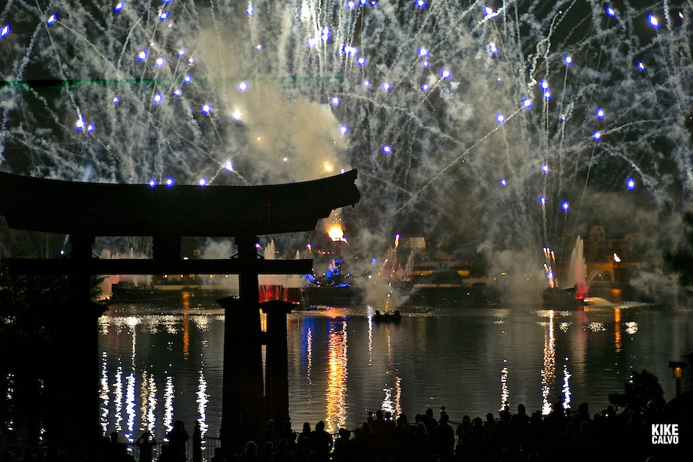 Daily fireworks night show at  Walt Disney World's Epcot