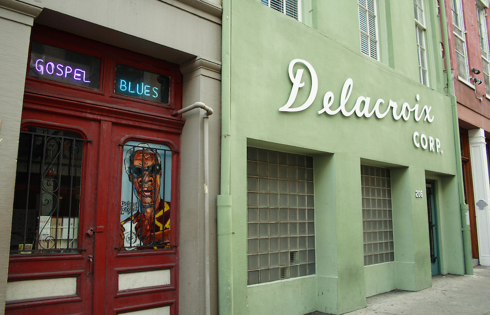 Delacroix Corp. Building, Decatur St., New Orleans, LA