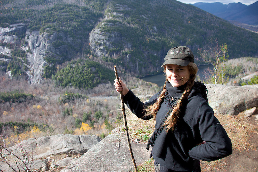 Giant Mountain Wilderness Area in the Adirondack Mountains, NY state.