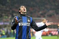"""Diego Milito Inter<br /> Milano 31/10/2012 Stadio """"S.Siro""""<br /> Football Calcio Serie A 2012/13<br /> Inter v Sampdoria<br /> Foto Insidefoto Paolo Nucci"""