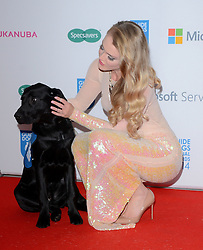 Camilla Kerslake attends The Guide Dog Of The Year Awards 2014 at The Hilton Park Lane Hotel, London on Wednesday 15th December 2014
