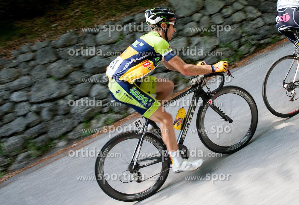 Tadej Valjavec (SLO) of Sava during Stage 3 from Skofja Loka to Vrsic (170 km) of cycling race 20th Tour de Slovenie 2013,  on June 15, 2013 in Slovenia. (Photo By Vid Ponikvar / Sportida)