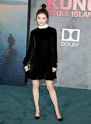 Tian Jing at the Los Angeles premiere of 'Kong: Skull Island' held at the El Capitan Theatre in Hollywood, USA on March 8, 2017.