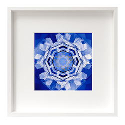 Blueprint of a Snowflake / Copyright © 2016 Karen Wortley