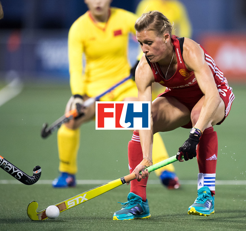 AUCKLAND - Sentinel Hockey World League final women<br /> Match id 10302<br /> ENG v China<br /> Foto:  Alex Danson( C) .<br /> WORLDSPORTPICS COPYRIGHT FRANK UIJLENBROEK