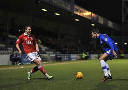 Bristol City's Marlon Pack plays a pass - Photo mandatory by-line: Dougie Allward/JMP - Mobile: 07966 386802 - 06/01/2015 - SPORT - football - Gillingham - Priestfield Stadium - Gillingham v Bristol City - Johnstone Paint Trophy - Area final