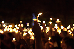 "© under license to London News Pictures. 21/11/2010: FILE PICTURE. (A candlelit vigil at Manchester's Sackville Park's Aids Memorial 30/08/2010) In an interview, published in a new book, the Pope has relaxed the Catholic Church's stance on condom use as a first step in preventing the spread of HIV. This, 10 days ahead of ""World AIDS Day"", on 1st December, when many will gather to raise awareness of HIV and in memorial of its victims, past and present. Picture credit: Joel Goodman/London News Pictures"