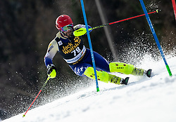 TAHIRI Albin of Kosovo during the Audi FIS Alpine Ski World Cup Men's Slalom 58th Vitranc Cup 2019 on March 10, 2019 in Podkoren, Kranjska Gora, Slovenia. Photo by Matic Ritonja / Sportida