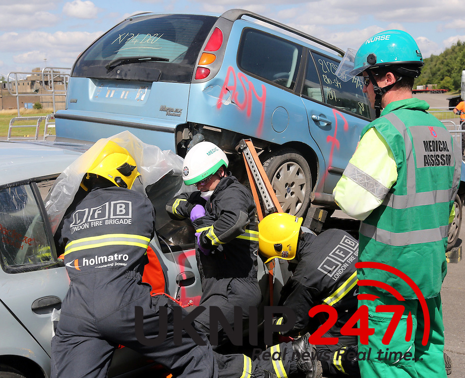 The UK&rsquo;s fire and rescue services descended upon the Fire Service College at the weekend to compete at this year&rsquo;s UK Rescue Challenge, operated by the United Kingdom Rescue Organisation.<br />