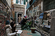 Venice, World famous Libreria Acqua Alta, voted by the Guardia as second most beautiful bookstore in the  world