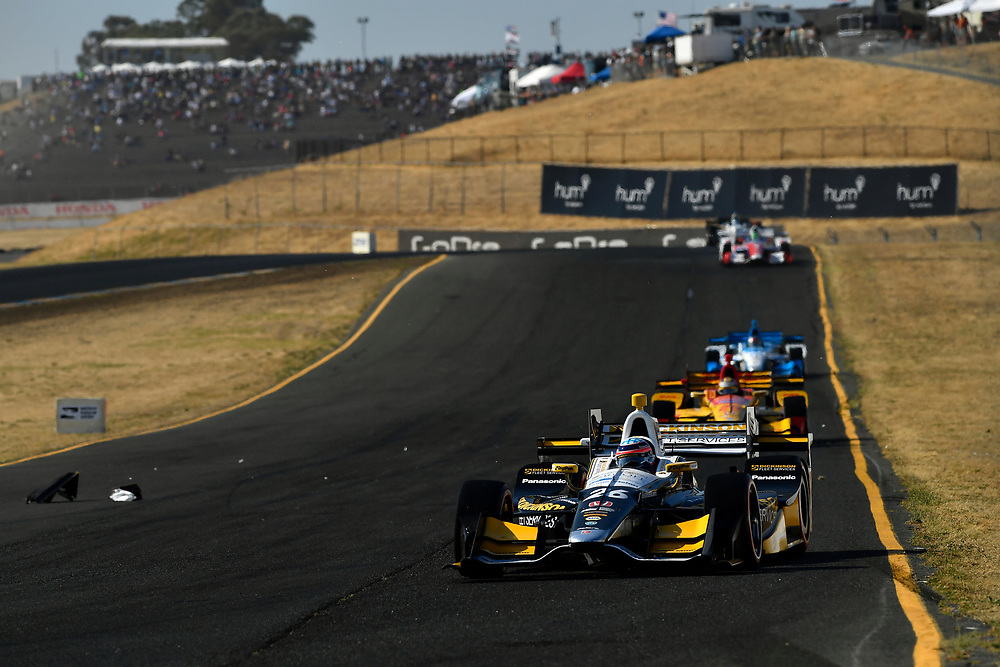 Verizon IndyCar Series<br /> GoPro Grand Prix of Sonoma<br /> Sonoma Raceway, Sonoma, CA USA<br /> Sunday 17 September 2017<br /> Takuma Sato, Andretti Autosport Honda<br /> World Copyright: Scott R LePage<br /> LAT Images<br /> ref: Digital Image lepage-170917-son-11066