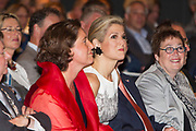 Koningin Máxima spreekt bij congres PO-Raad 'Kennis voor Morgen' <br /> <br /> Queen Máxima speaking at conference PO Council 'Knowledge for Tomorrow'