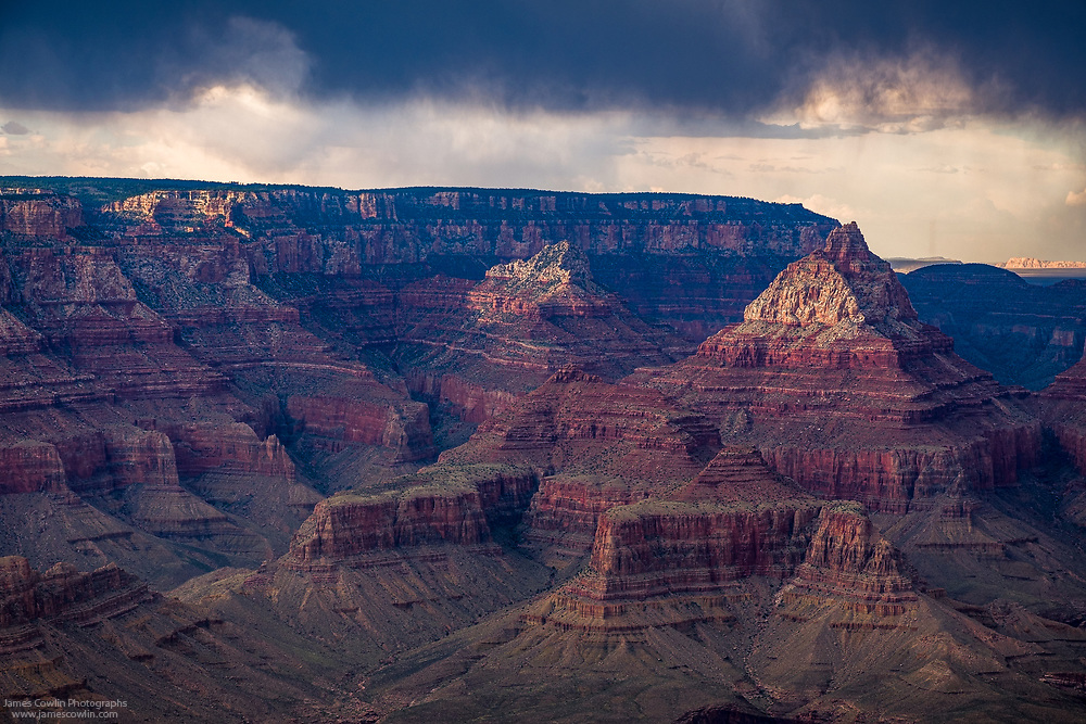View of the Grand Canyon from Grandview Point