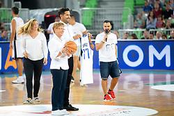 during basketball event Kosarkaska simfonija - last offical basketball match of Bostjan Nachbar and Sani Becirovic, on August 30, 2018 in Arena Stozice, Ljubljana, Slovenia. Photo by Urban Urbanc / Sportida