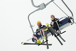 Ivica Kostelic during last race of Andrej Jerman, Slovenian best downhill skier when he finished his professional alpine ski career on April 6, 2013 in Krvavec Ski resort, Slovenia. (Photo By Vid Ponikvar / Sportida)