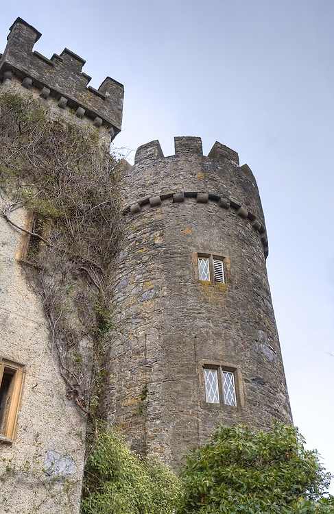Malahide Castle in Dublin, Ireland
