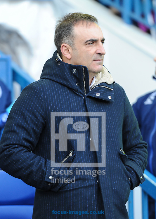 Carlos Carvalhal Manager of Sheffield Wednesday during the Sky Bet Championship match at Hillsborough, Sheffield<br /> Picture by Richard Land/Focus Images Ltd +44 7713 507003<br /> 20/12/2015